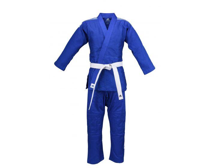 arrendamiento Leo un libro Criticar  Judogi Adidas Club Blau [Mit Schulterstreifen, Trainingsanzug