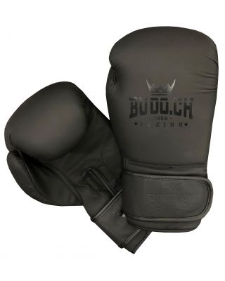 BOXHANDSCHUHE ALL BLACK BUDO.CH