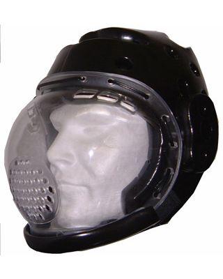 Kopfschutz mit Plexiglas Maske
