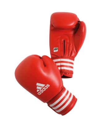 Contest Boxing Glove adidas [AIBA, rot]
