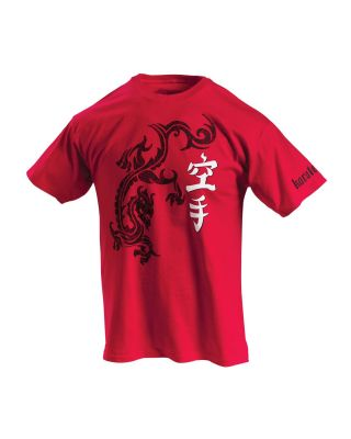 CENTURY KARATE KANJI TEE T-SHIRT RED