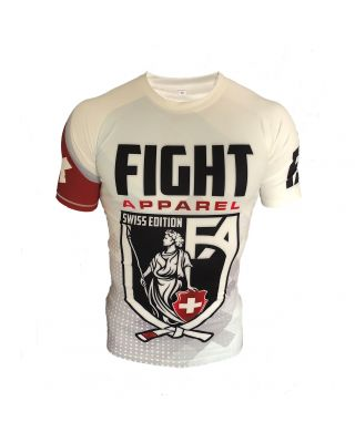 FIGHT APPAREL RASHGUARD SWISS EDITION