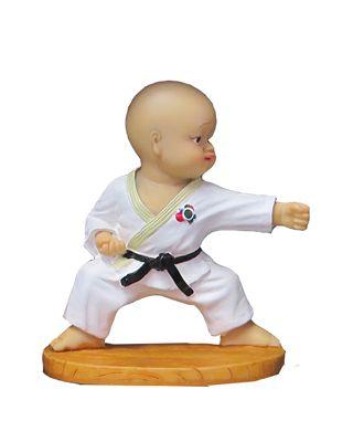 Karate Figur
