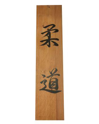 CALLIGRAPHIE auf Holzplatte