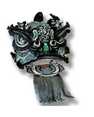 Löwentanz Gewand und Maske [2 Hosen, 2 Paar Schuhe, Gewa