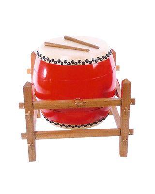 Trommel für Löwentanz [Inklusive Holzgestell]