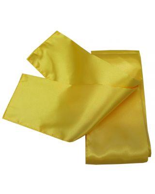 Satin Schärpe gelb 280cm/10cm