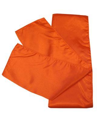 Satin Schärpe orange 280cm/10cm