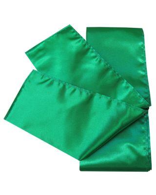 Satin Schärpe grün 280cm/10cm