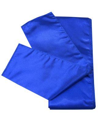 Satin Schärpe blau 280cm/10cm