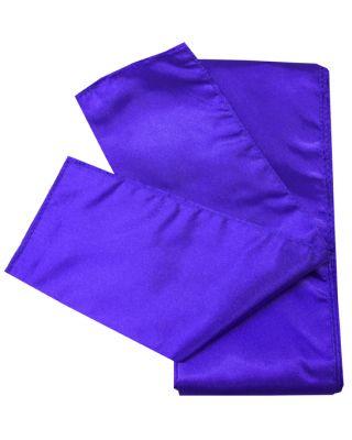 Satin Schärpe violett 280cm/10cm