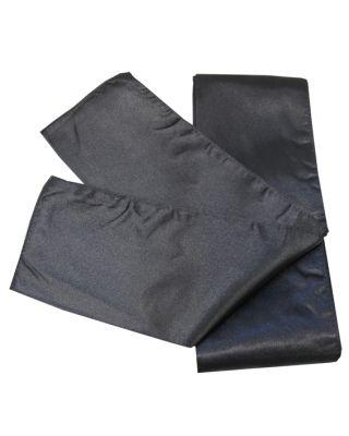 Satin Schärpe schwarz 280cm/10cm