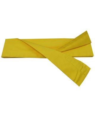 Baumwoll Schärpe gelb 330cm