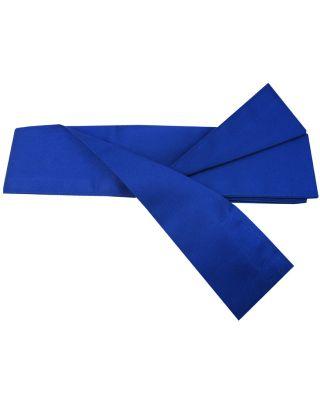 Baumwoll Schärpe blau 330cm