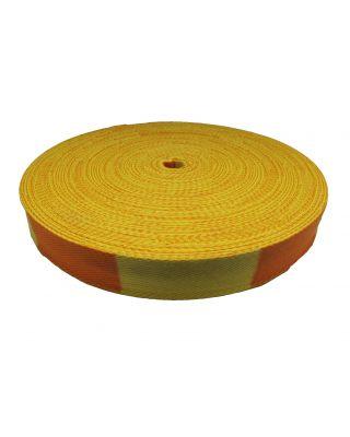 Gürtelrolle 50 Meter [gelb-orange]
