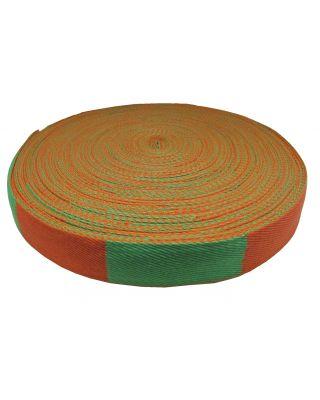 Gürtelrolle 50 Meter [orange-grün]