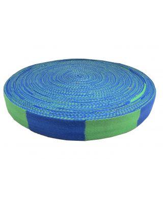 Gürtelrolle 50 Meter [grün-blau]
