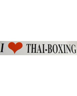 I Like Thai-Boxing [50x195mm]
