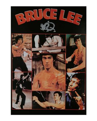 Bruce Lee Action [55x80cm]