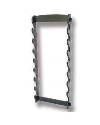 Wandhalter 8 Katanas [Holz schwarz 100x40cm]