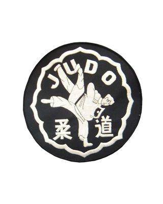 Judo Wurf/Schriftzeichen [weiss/schwarz 20cm]
