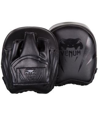 VENUM ELITE MINI PUNCH MITTS BLACK/BLACK
