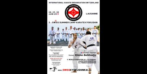 2nd SWISS SUMMER CAMP KARATE KYOKUSHIN