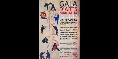 GALA D'ART MARTIAUX