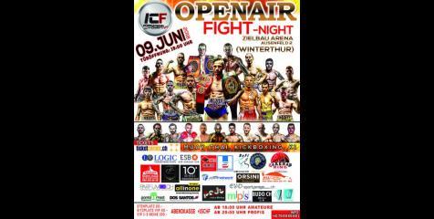 ICF OPENAIR FIGHT NIGHT