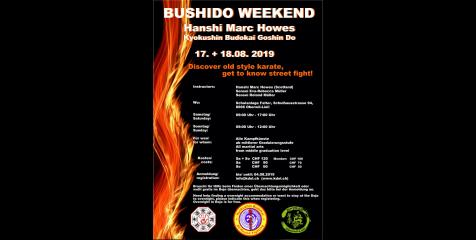 BUSHIDO WEEKEND