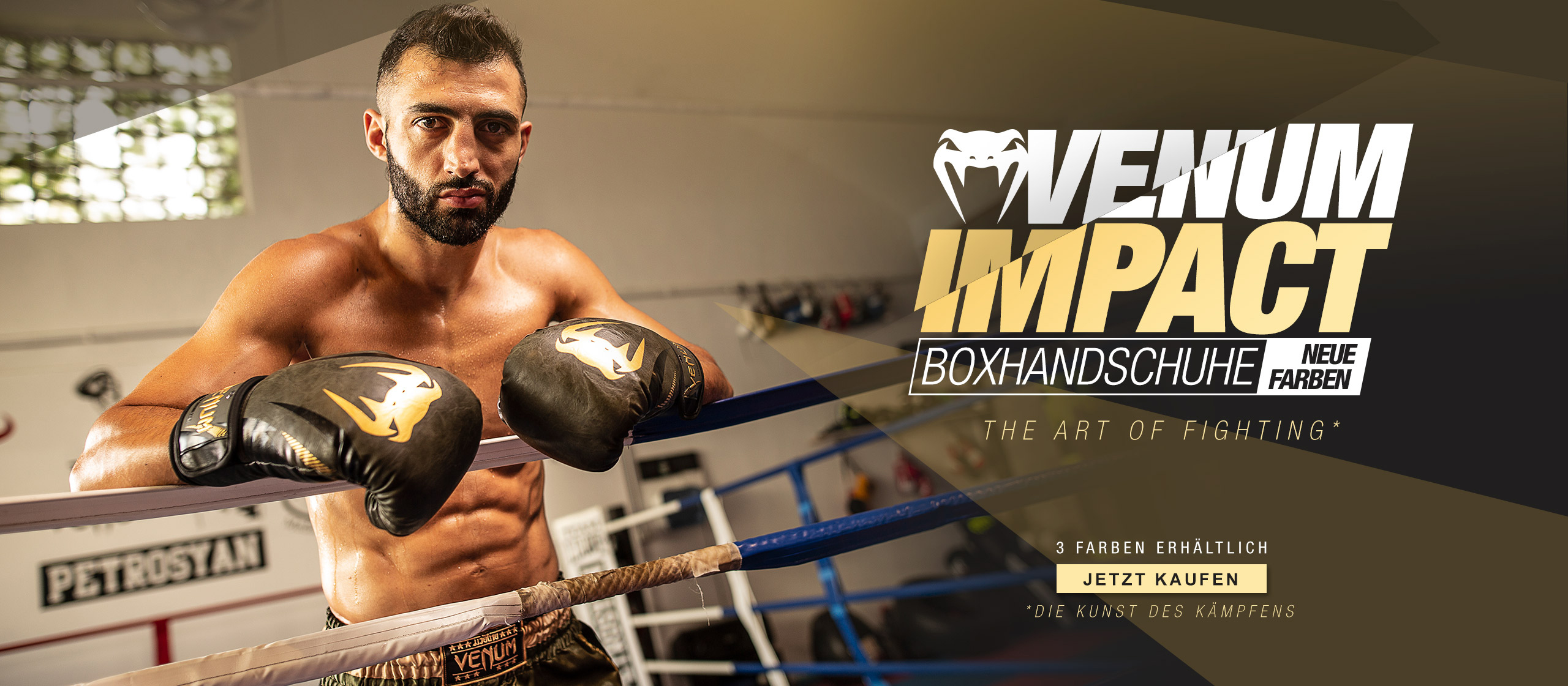 Venum Impact Boxhandschuhe
